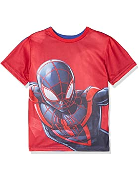 Marvel Spiderman Reversible, Camiseta para Niños
