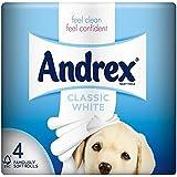 Andrex Blancs Classiques Rouleaux De Papier Hygiénique - 240 Feuilles Par Rouleau (4)