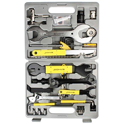 Bike Tool Kit, lanowo 22tlg Professionelle Multifunktions-Fahrrad Reparatur Tool Kit, tragbar und praktisch Mountain Bike Tire Repair Tools
