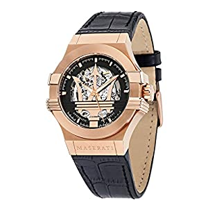 Reloj para Hombre, Colección Potenza, Movimiento mecánico automático,