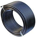 EXCOLO PE-HD Rohr Wasserrohr Wasser Leitung Kunststoffrohr Bewässerung Wasser Rohre schwarz