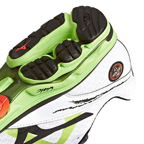 Mizuno, Wave Rider 17, Scarpe sportive, Uomo Bianco/Verde