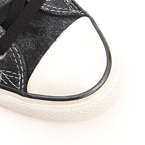 Converse Chuck Taylor All Star Femme Sparkle Wash Ox 382450 Damen Sneaker Black