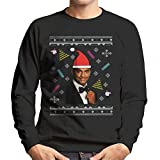 Fresh Prince Of Bel Air Carlton Dance Christmas Knit Pattern Men's Sweatshirt