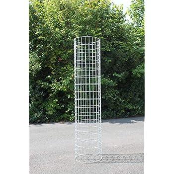 Steingabionen Steinkorb Gabione S/äule /Ø35 cm H:100 cm Gabionen-S/äulen