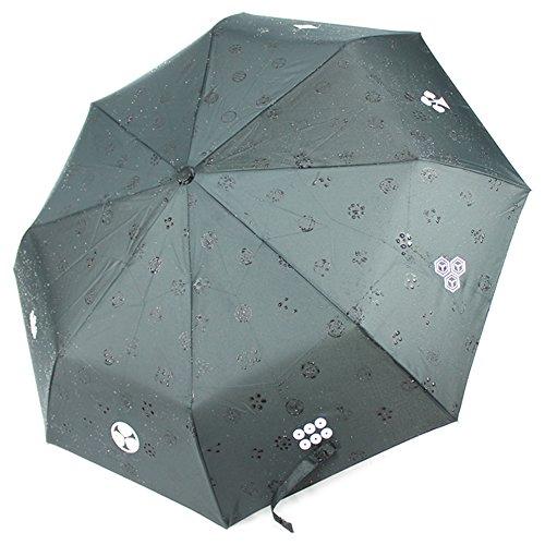 Paraguas plegable samuráis japoneses notebookbits