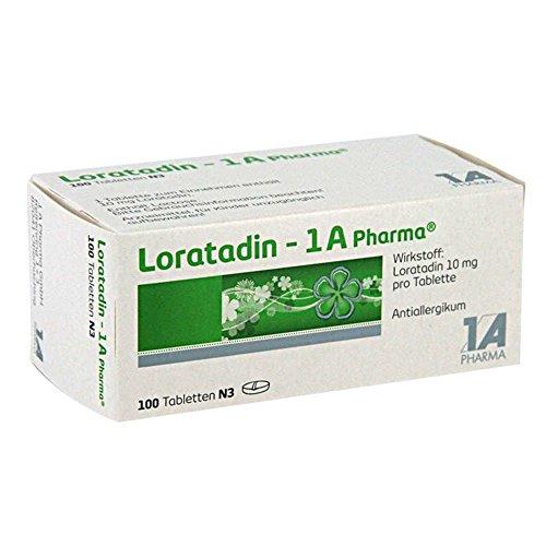 LORATADIN 1A Pharma Tabletten 100 St Tabletten
