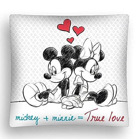 Mickey et Minnie Taie d'oreiller True love Dimensions: env. 40x