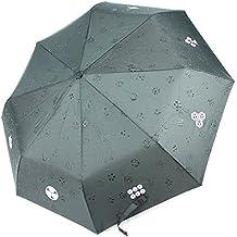 Nuevo japonés Samurai plegable paraguas lluvia Kamon espada Katana de Japón