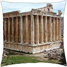 Templo romano de Baco Líbano - Funda de cojín (18