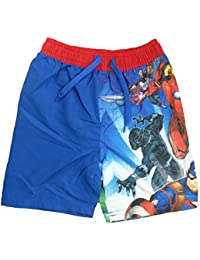 Minion Boys Red Blue Multi Swimming Trunks Swimwear Swim Surf Shorts Age 3-8years