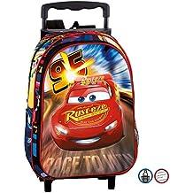 Perona 072227 Cars 2018 Mochila Infantil, 37 cm, Rojo