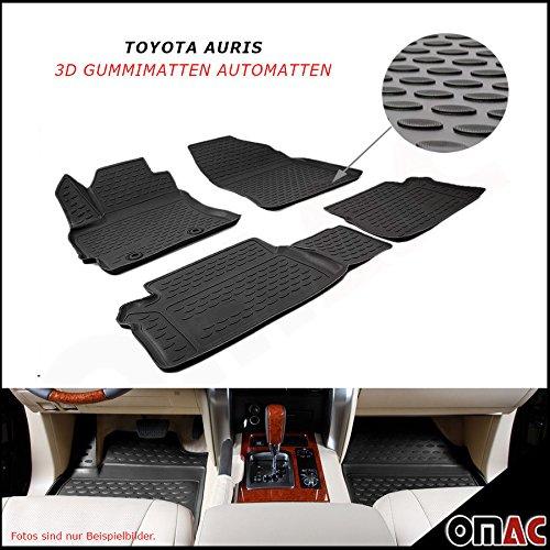 TOYOTA AURIS dal 2013in poi tappetini in gomma Polymer alta 3d gomma tappetini per auto