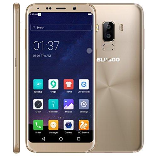 BLUBOO S8Desbloqueado Smartphone 3GB + 32GB Dual cámaras Trasera Huella Digital Identificación DE 5,7Pulgadas...