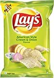 #2: Lays Potato Chips - American Style Cream & Onion Flavour (Party Pack), 177g Pouch