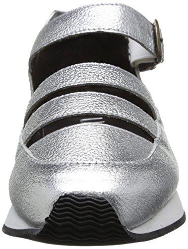 Urban Walk Vero Damen Schnürhalbschuhe Silber - Argent (Silver)