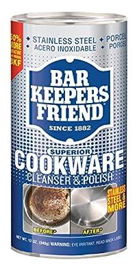 Servaas Lans Bar Keepers Friend Cookware Cleaner?12 oz