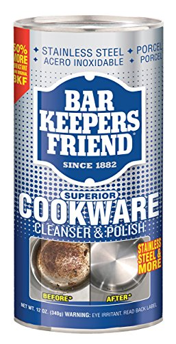 Servaas Lans Bar Keepers Friend Kochgeschirr-Reiniger, 340 ml Bar Keepers