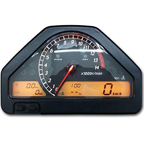 zxmoto odómetro tacómetro velocímetro Cluster de calibre para Honda CBR 1000RR (2004-2007)