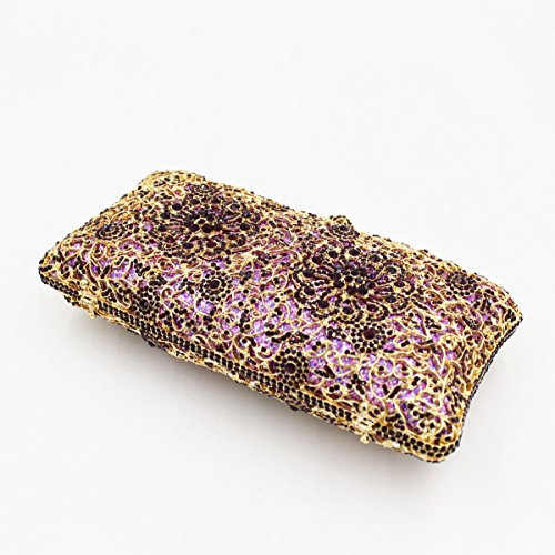 Chirrupy Chief, Poschette giorno donna Viola Purple Gold