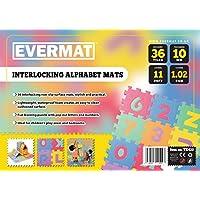 Besten Preis für Evermat TX42011ft EVA-Schaum Alphabet ABC 123Puzzle Play Matte, mehrfarbig, 1,02qm, von 36Stück bei kleinkindspielzeugpreise.eu