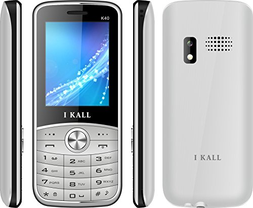 I Kall K40 Dual SIM Mobile Phone(Silver) offer