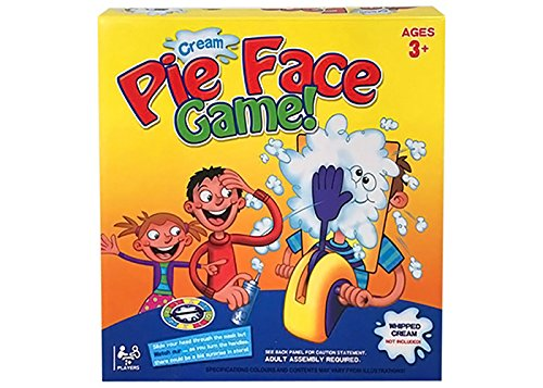 Angel Impex Creamy PIe On Your Face A Family Fun For Your Kids (Yellow, Purple, Blue)