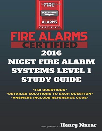 NICET Fire Alarm Systems Level 1 Study Guide
