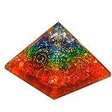 Real Gemstone Fine calidad pirámides metafísica Orgonite pirámides 50–55mm