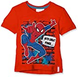 Sun City FR Amazing Spiderman, Camiseta para Niños, Naranja (Orange...