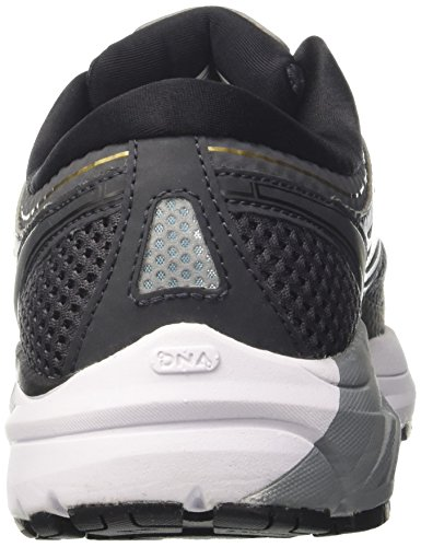 Brooks Addiction 13, Chaussures de Running Homme Gris (Black/ebony/metallicgold 1d091)