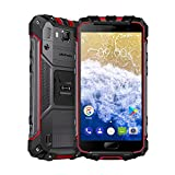 Ulefone Armor 2S Outdoor Smartphone ohne Vertrag (5 Zoll FHD Display mit Corning Glas 3, Quad-Core Prosessor, 2GB RAM+16GB ROM, 13MP+8MP Wassdichte Kameras, IP68-Zertifizierung, Dual-SIM (Nano), Android 7.0) (Armor 2s Rot)