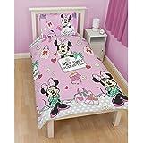 Minnie Mouse elegante rotatorio funda nórdica - Single-Disney