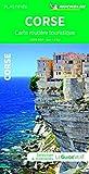 Carte routière touristique Corse...
