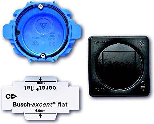 Busch-Jaeger 3048/11 Montageset Carat Flat Up 1-Fach