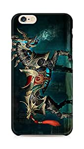 Amez designer printed 3d premium high quality back case cover for Apple iPhone 6s (Cool Horse wide)