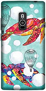 The Racoon Grip printed designer hard back mobile phone case cover for OnePlus 2. (Mysterious)