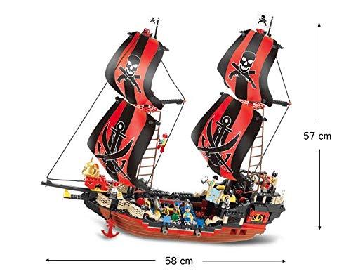 SLUBAN BRICKS, Pirate Perla Negra 632 Piezas Juegos de construcción (AJ 1)