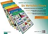 Die Wortschatz-Plakate: Ausgewählter Wortschatz der Niveaustufen A1 – B1 / Übungsheft und 6 Plakate (Lernplakate)
