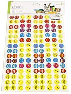 Enfants Reward Chart Smiley Bien Jouer Autocollants 2 Feuilles