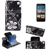 Für HTC Desire 728G Dual SIM 360° Wallet Case Schutz