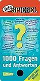 """""""Dein SPIEGEL"""" - 1000 Fragen und Antworten: Quizfächer - Einfach mehr Wissen"""