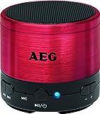 AEG BSS 4826 Bluetooth Lautsprecher rot