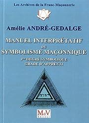Manuel interprétatif du symbolisme maçonnique : 1er degré maçonnique - Grade d'apprenti