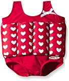 Beverly Kids Children True Love Uv Floating Swimsuit, Red, 92