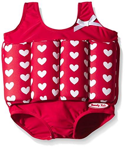Beverly Kids Bojen - Costume da nuoto con galleggianti, da bambini, rosso (True Love), 92