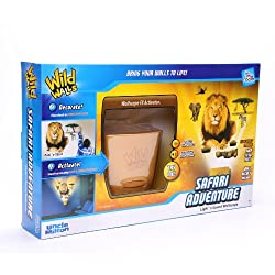 Uncle Milton Wild Walls Safari Adventure, Light and Sound Room Decor