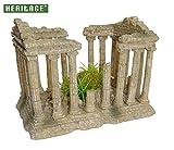 Heritage® Aquarium-Ornament, Römischer Tempel