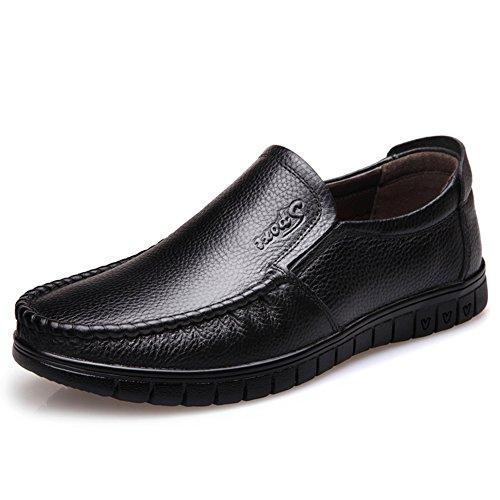 Business casual chaussures/Chaussure respirante du masculin/Chaussures d'Angleterreen cuir/Chaussures de foot A