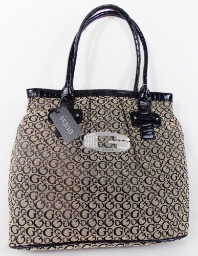 Guess - Sac a main femme - cuir synthetique et toile - modele FA288725 TANSY